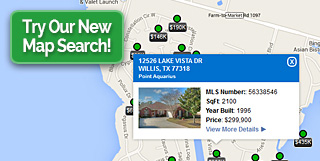 Lake Conroe Realty Map Search